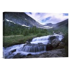 Lunch Creek Cascades' Photographic Print on Canvas by East Urban Home