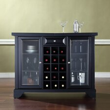 Abbate Sliding Top Bar Cabinet