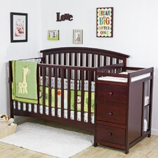 Niko 4-in-1 Convertible Crib and Changer Combo
