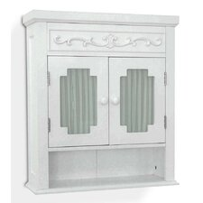 Paille 21 W x 24.19 H Wall Mounted Cabinet by One Allium Way