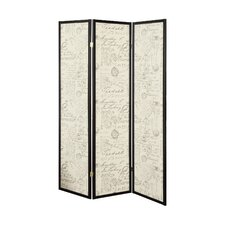 Zeke 70.25 x 52 3 Panel Room Divider by Ophelia & Co.