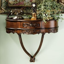 Camellia Wall Console Table by Design Toscano