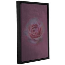 Loulou Rose'  Framed Painting Print On Wrppaed Canvas by Ophelia & Co.