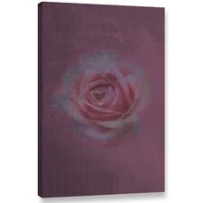 Loulou Rose'  Painting Print On Wrapped Canvas by Ophelia & Co.