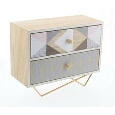 Wood/Metal Jewelry Box