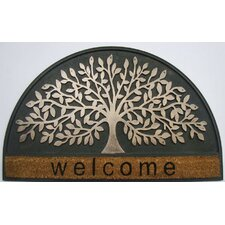 Infinity Tree Entrance Welcome Coir Doormat