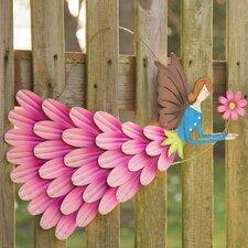 Garden Angel Iron Flying Fairy Wall Décor