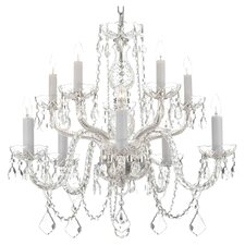 Lynn 10-Light Crystal Chandelier
