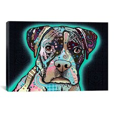 Love Thy Boxer' by Dean Russo Graphic Art on Canvas by Zipcode Design