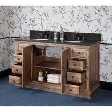 Vice 61 Double Bathroom Vanity Set by Loon Peak