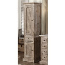 """Vice 19.63"""" W x 78.75"""" H Linen Tower"""