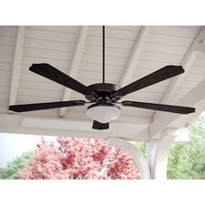 "52"" Desouza 5 Blade Outdoor Ceiling Fan"
