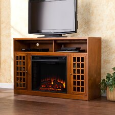 "Hawley 48"" TV Stand with Electric Fireplace"