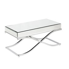 Ames Mirrored Coffee Table by Mercer41™