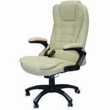 Whiting Faux Leather Heated Massage Chair