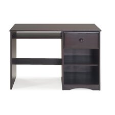 """Beedle 43.5"""" W Computer Desk with Keyboard Tray"""