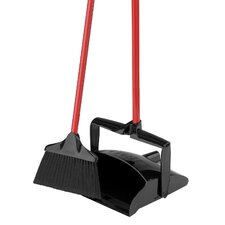 Lobby Broom and Dust Pan