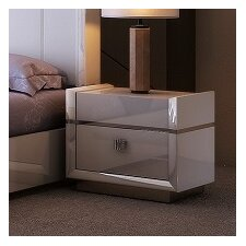 Brookside 1 Drawer Nightstand by Everly Quinn