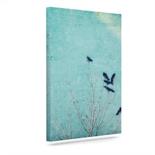 Love One Another' Graphic Art Print on Canvas  by East Urban Home