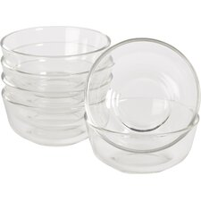 Wayfair Basics 11 oz. Glass Bowls (Set of 6)
