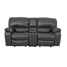 Reclining Console Loveseat by LYKE Home