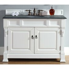 Bedrock 48 Single Cottage White Bathroom Vanity Set by Darby Home Co