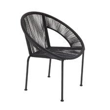 Glendale Heights Metal Barrel Chair