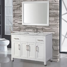 Denault 48 Single Sink Bathroom Vanity Set with Mirror by Brayden Studio