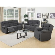 Mayflower 3 Piece Recliner Sofa Set  by Red Barrel Studio®
