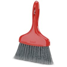 Whisk Broom in Red and Black