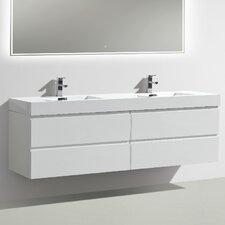 MOF 71 Double Bathroom Vanity Set by Morenobath