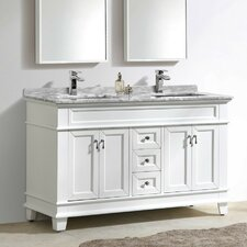 Fayer 59 Double Bathroom Vanity Set by Morenobath
