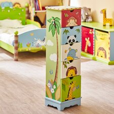 Sunny Safari 5 Drawer Chest of Drawers
