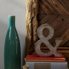 "7"" Galvanized Metal Ampersand"