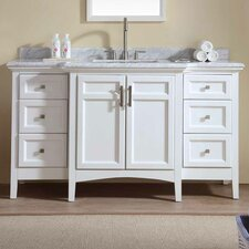 "Oxford Luz 60"" Single Bathroom Vanity Set"