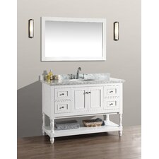 Amie 48 Single Bathroom Vanity Set with Mirror by Darby Home Co