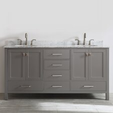 Newtown 72 Double Vanity Set by Beachcrest Home