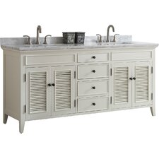 Gwyneth 72 Double Vanity Set by Breakwater Bay