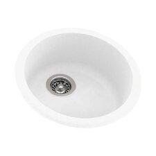 """18.5"""" x 18.5"""" Drop-In/Undermount Kitchen Sink"""