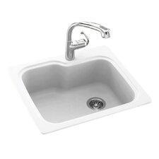 """25"""" x 22"""" Drop-In Kitchen Sink"""