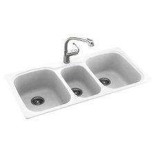 """44"""" x 22"""" Drop-In Kitchen Sink"""