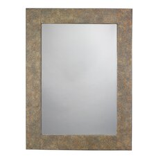 Eggshell Rectangle Bathroom/Vanity Wall Mirror by World Menagerie