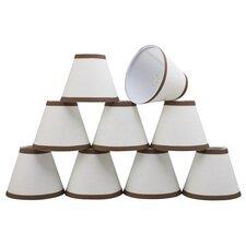 "6"" Linen Empire Candelabra Shade (Set of 9)"