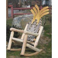 Hockey Stick Rocking Chair