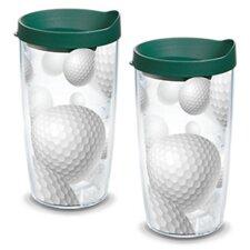 Golf Balls Gift Insulated Tumbler (Set of 2)