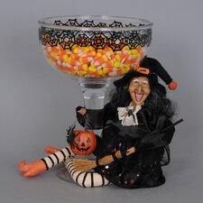 Witch Figurine for Snack Dish