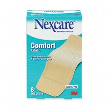 """Fabric Bandages, Knee/Elbow, Latex-free, 1-7/8""""x4"""" Strips, 8 per Pack (Set of 2)"""