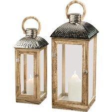 Lucca 2-Piece Lantern Set