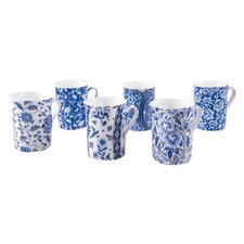 Macao 6 Piece Coffee Mug Set