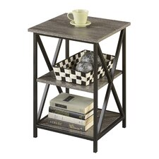 Sherburne 3 Tier End Table